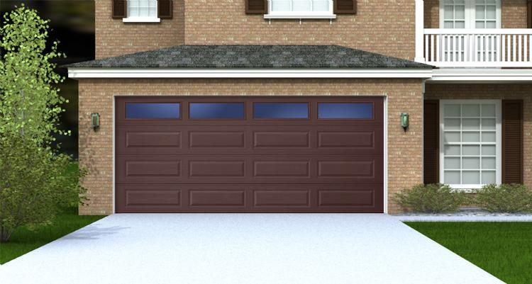 Brown Garage Doors With Windows interesting brown garage doors with windows picture to decor